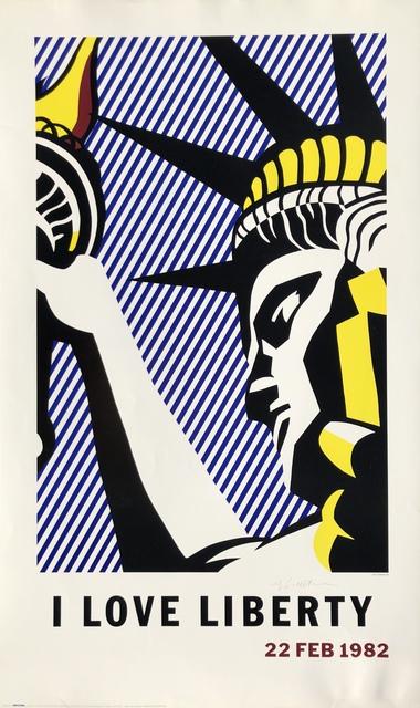 Roy Lichtenstein, 'I Love Liberty', 1982, Denis Bloch Fine Art