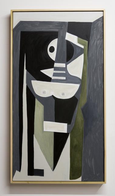 , 'kool-aid blues I,' 2015, MAMA