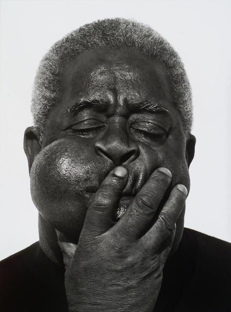 , 'Dizzy Gillespie, Paris,' 1989, Museum of Fine Arts, Boston