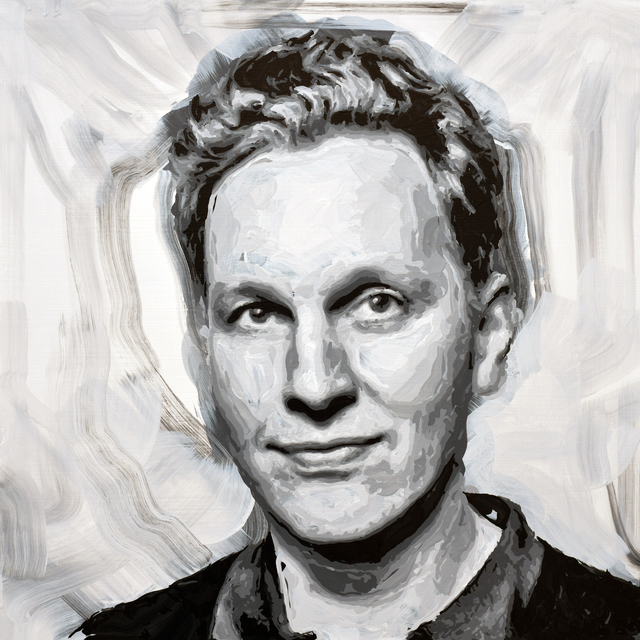 Rob and Nick Carter, 'David Shrigley Robot Painting, Painting time: 19:05:28 Stroke count: 7,839 26-27 January', 2020, Ben Brown Fine Arts