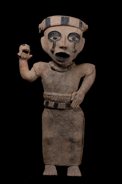 Unknown Pre-Columbian, 'Remojadas Weeping Figure', 600-900, Muzeion Gallery