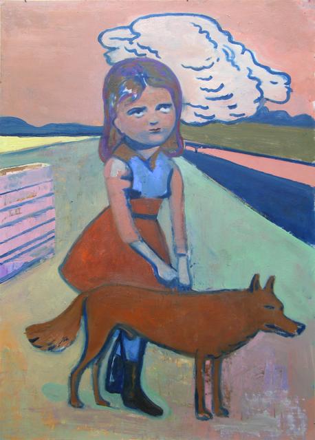 Stephanus Heidacker, 'Girl with Dog', 2012, TEW Galleries