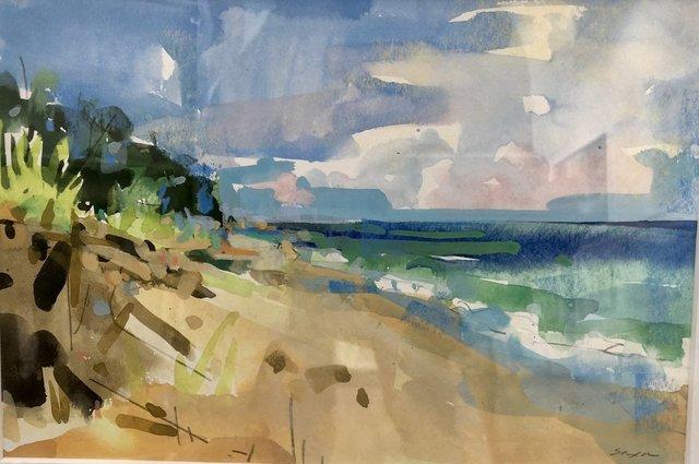 Angela Saxon, 'The Pull of the Shore II', 2018, Vivid Art Gallery