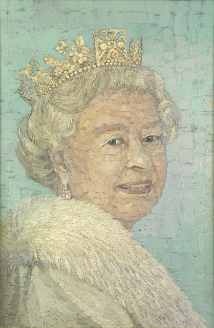 , 'Queen Elizabeth II,' 2017, Tanya Baxter Contemporary