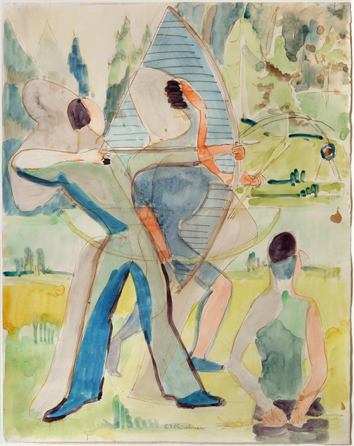, 'Bogenschützen,' 1935-1937, Galerie Utermann