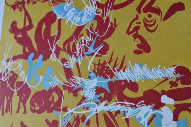 , 'Doré rouge bleu,' 1979-1989, ByNewArt