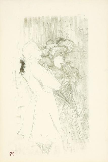 """, 'Lender et Auguez dans """"La Chanson de Fortunio"""",' 1895, Rennert's Gallery"""