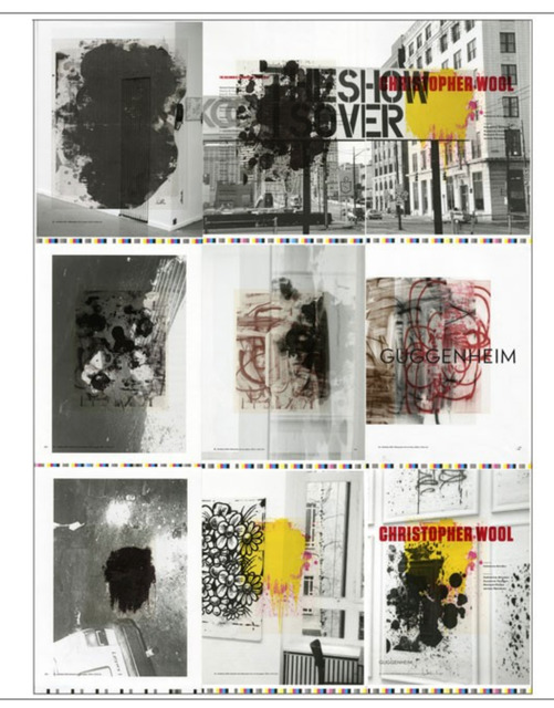 """Christopher Wool, '""""The Show is Over"""" ', 2013, Alpha 137 Gallery"""