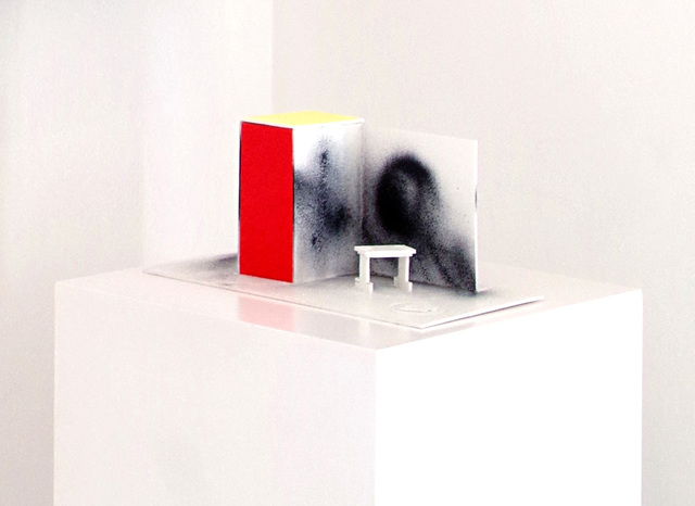 "Dexter Dalwood, '""Mao's Study Remix (Sculpture)""', 2015, Leyendecker"