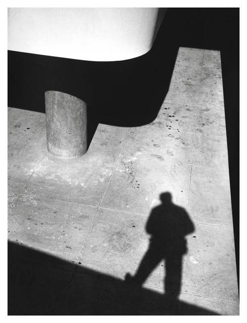 , 'Autorretrato com sombra,' 1953, Galeria da Gávea