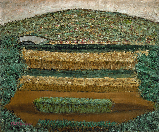 Arnold Friedman, 'Landscape with Bridge', 1944, Hollis Taggart
