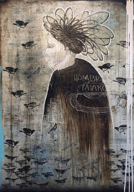 , 'El señor de los pájaros ,' 2017, Lux Perpetua Art Centre