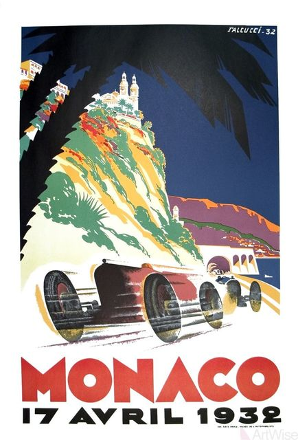 , 'Monaco Grand Prix 1932,' 1983, ArtWise