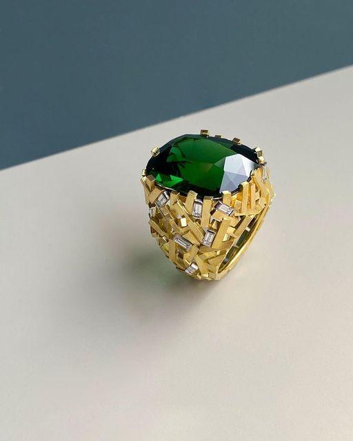 , 'Tourmaline Ring,' 2019, Grima