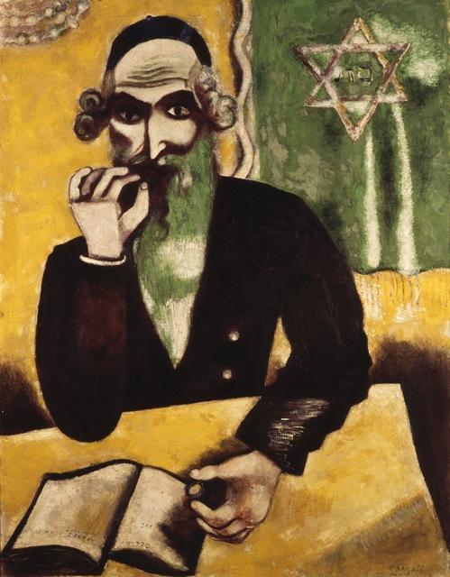 Marc Chagall, 'The Rabbi', 1923-1926, ARS/Art Resource