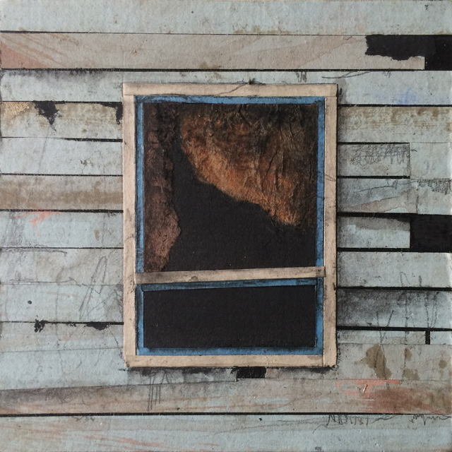, 'Window Block (blue),' 2016, BoxHeart