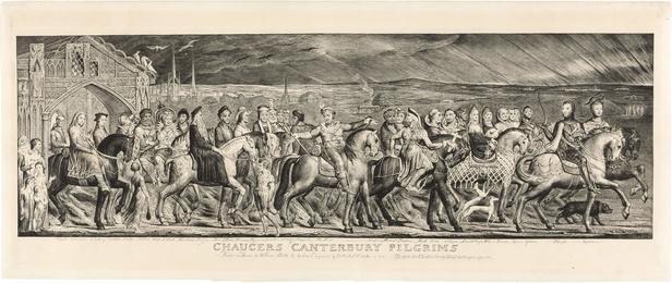 CHAUCER'S CANTERBURY PILGRIMS (ESSICK 16)