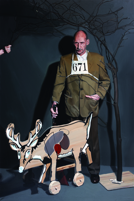 , 'Running Deer Shooting, Chris Crick,' 2010, Gallery Hyundai