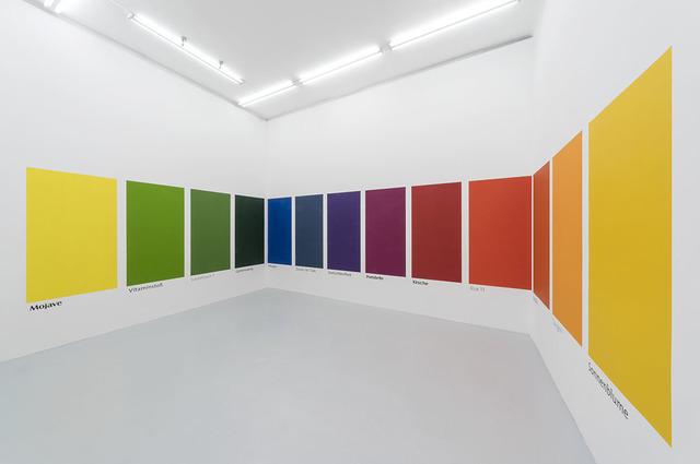 , 'eswürdesoaussehen,' 2018, Galerie Hubert Winter