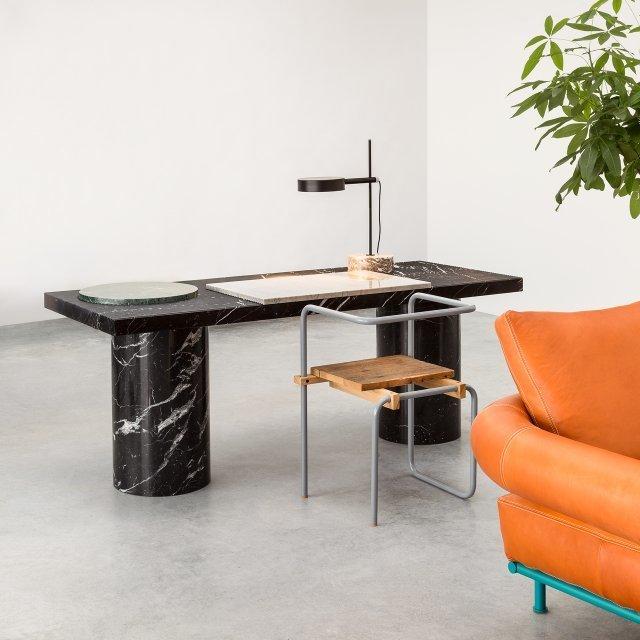 , 'Lines & Waves, desk 1,' 2016, Victor Hunt Designart Dealer