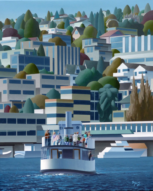 , 'Lake Union II,' 2017, Gunnar Nordstrom Contemporary Fine Art