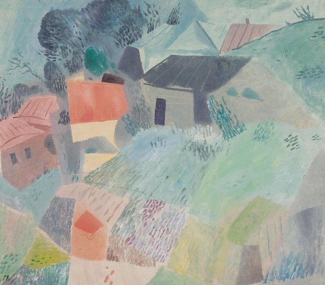 Petr Efimovich Zverkhovsky, 'Green day', 1990, Surikov Foundation