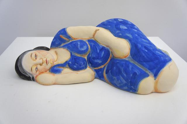 , 'Sleeping Woman in Blue Dress with Black Hair,' 2013, Duane Reed Gallery