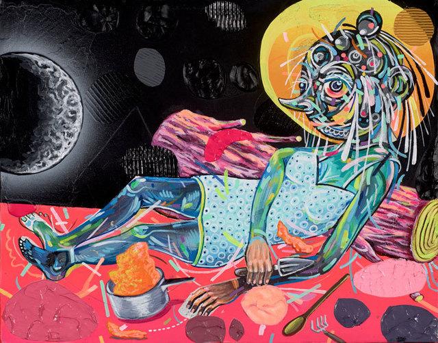 , 'Waxing Crescent Mood,' 2013, Mark Moore Fine Art