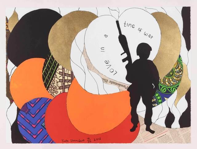 Yinka Shonibare CBE, 'Love in a Time of War 2', 2015, Stephen Friedman Gallery