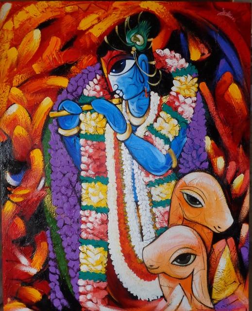 Sachindra Nath Jha, 'Krishna Deva', 2012, Arushi Arts
