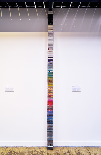, 'Redacted Stack,' 2014, Arsenal Contemporary