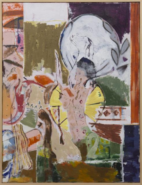 , 'Kelly & Oswald under moonlight (old swan),' 2019, V1 Gallery