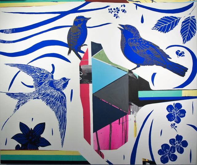 , 'The Flight,' 2018, Galerie Montmartre