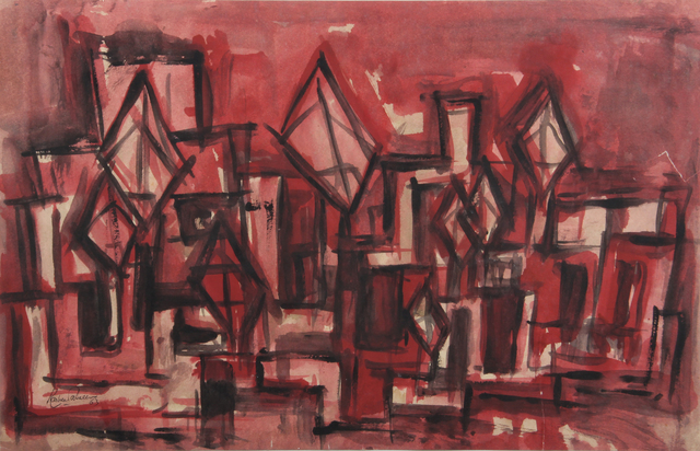 , 'Windcatchers in Pink,' 1963, Aicon Gallery