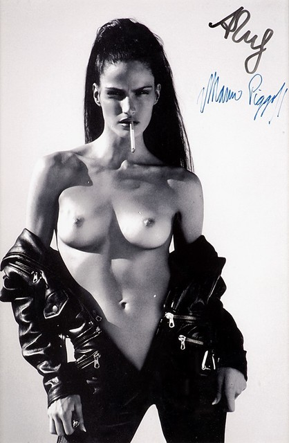Mert and Marcus, 'Woman in an open black overall', years 1990, Finarte