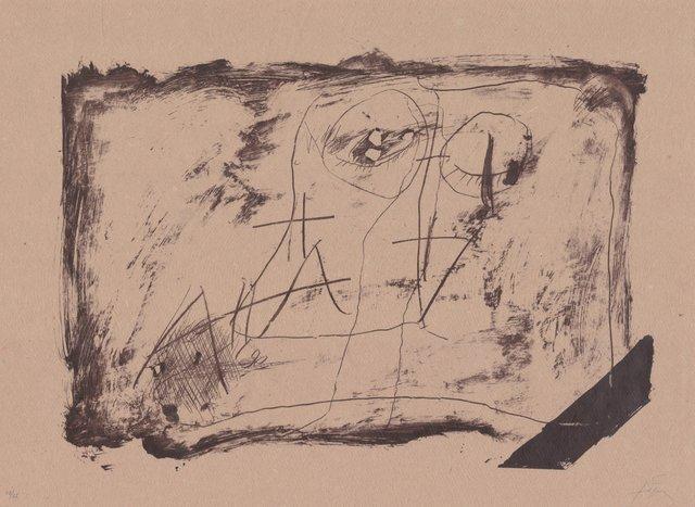 Antoni Tàpies, 'Llambrec material XI', 1970-1980, ARTEDIO