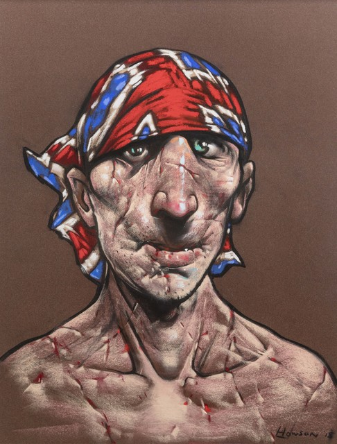 Peter Howson, 'Earsling', 2018, Flowers