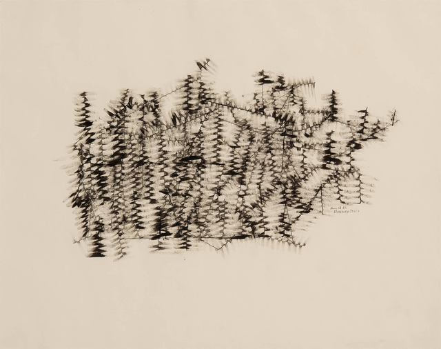 , 'Untitled (Winter Branches),' 1950, Michael Rosenfeld Gallery