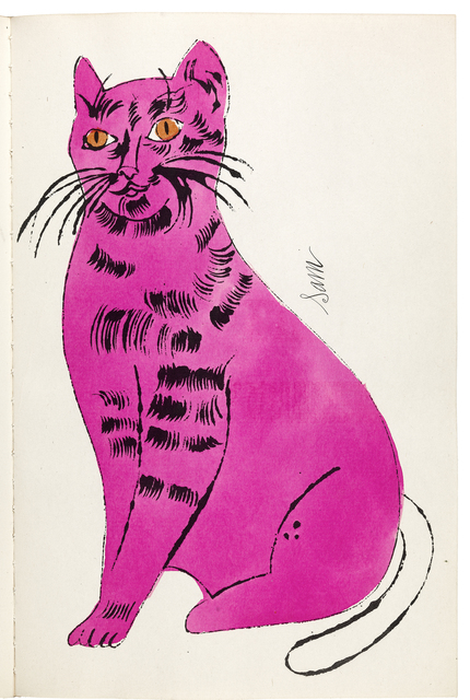 , '25 Cats Name Sam and One Blue Pussy,' 1954, Williams College Museum of Art