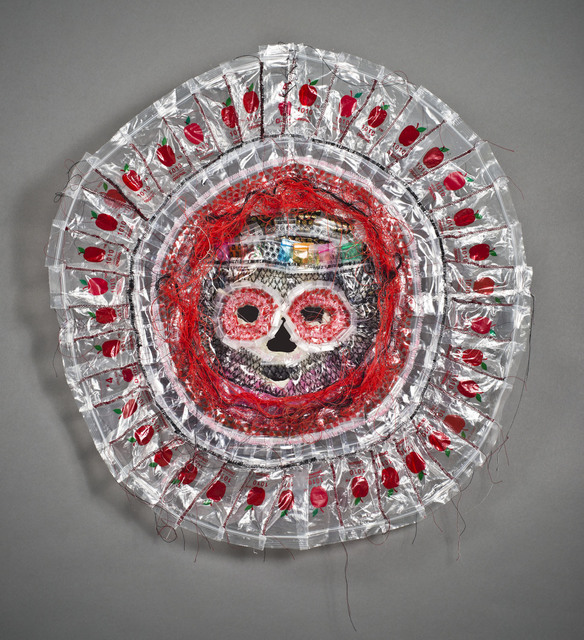 , 'Plastic Mala Death Mask,' 2016, MAIA Contemporary