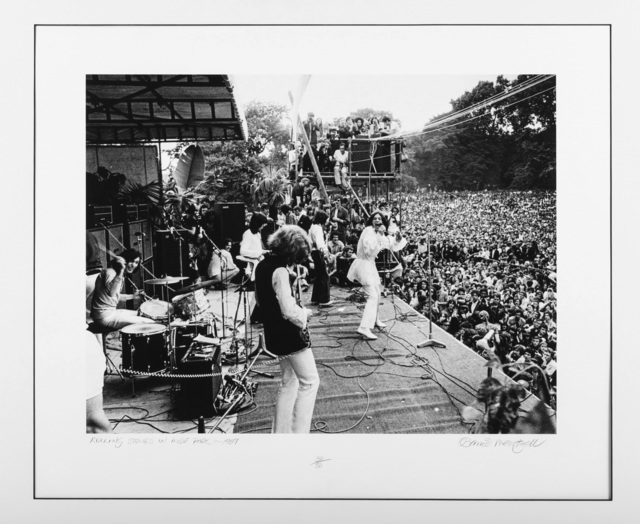 Barrie Wentzell, 'The Rolling Stones In Hyde Park', 1969, Chiswick Auctions