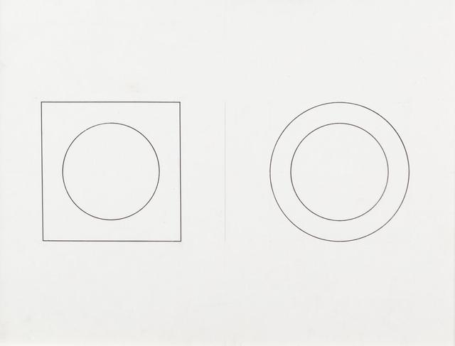 Mario Ballocco, 'Interazione tra figura e sfondo', 1981, Aste Boetto