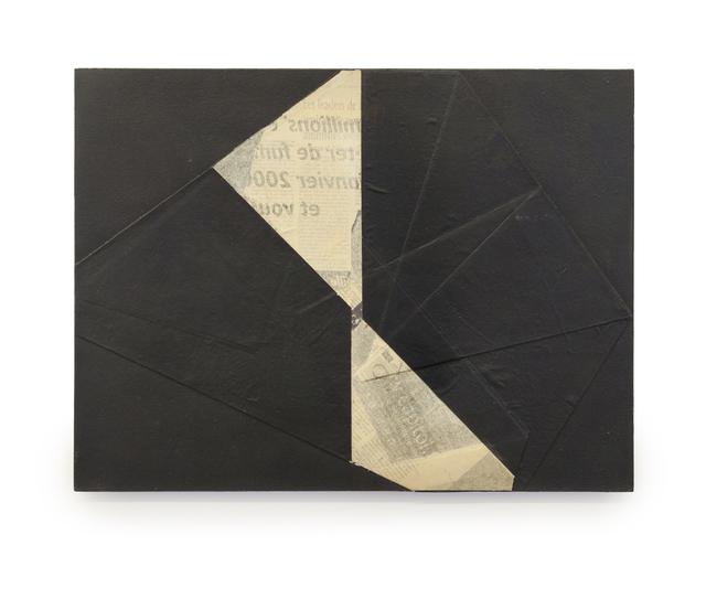 """, 'Relevo - série """"Jornal Imaginário"""",' 1999, Galeria Leme"""