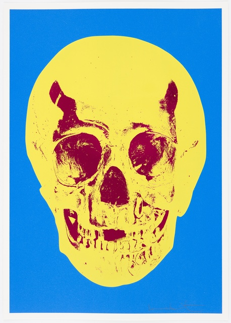 , 'Cerulean Blue Pigment Yellow Royal Red Pop Up Skull ,' 2012, Paul Stolper Gallery