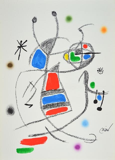 Joan Miró, 'Maravillas 8', 1960-1970, ARTEDIO
