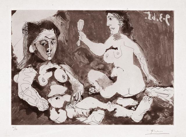 , 'Femmes à leur toilette II,' 1965, Galerie Raphael