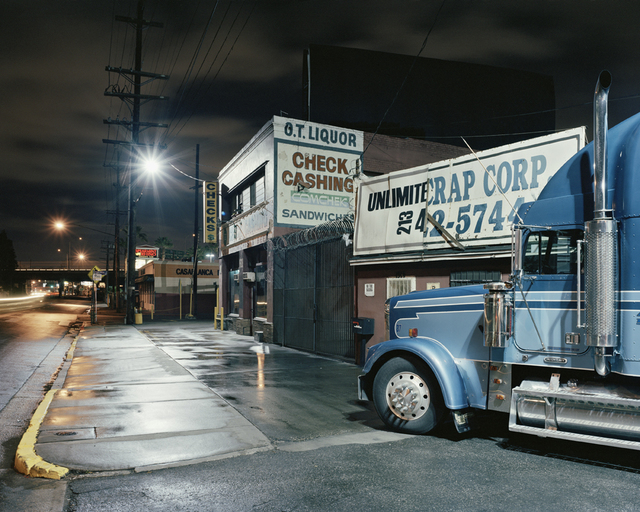 """, 'Truck, Los Angeles, from """"Down These Mean Streets"""",' 2009, CHRISTOPHE GUYE GALERIE"""