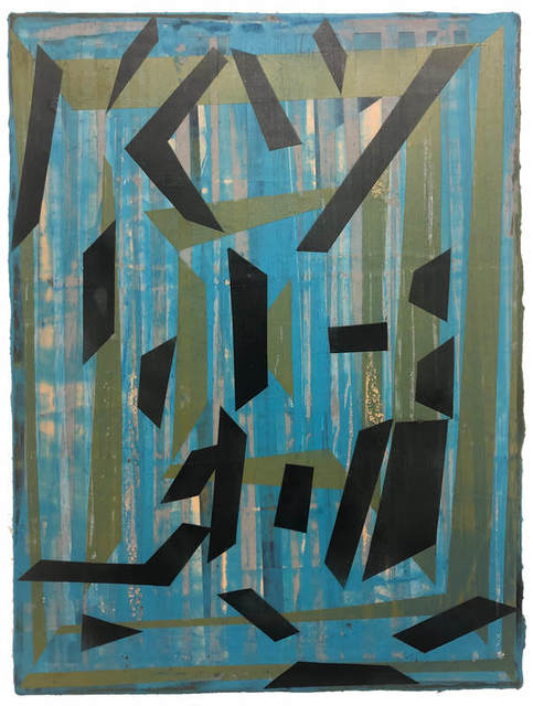 , 'Vibration No. 14,' 2019, The Painting Center