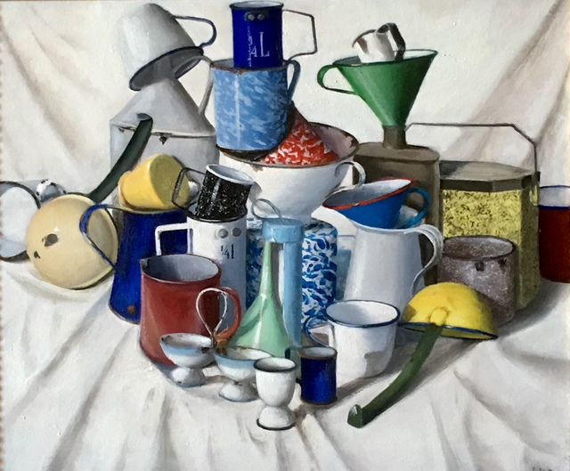, 'The Big Bang Theory of Tipsy Cups,' 2014-2018, Gallery Neptune & Brown