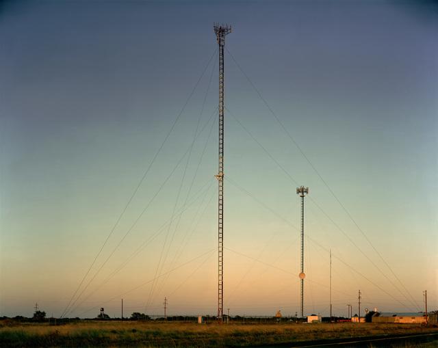 , 'Radio Tower near Sudan, Texas; October 18, 2010,' , photo-eye Gallery